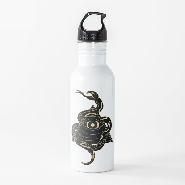 Serpent and the Watcher Water Bottle