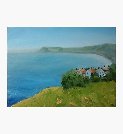 By the sea - North Yorkshire Photographic Print