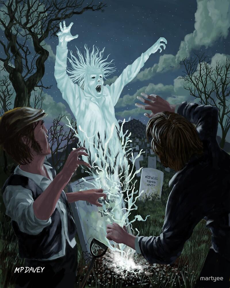 graveyard digger ghost by martyee