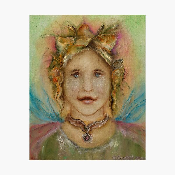 Spring Angel Photographic Print