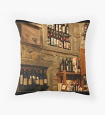 Enoteca Cinque Terre Throw Pillow