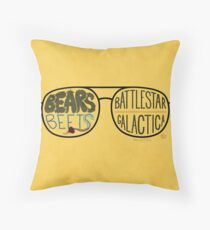 The Office Jim as Dwight Quote Throw Pillow