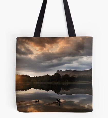 Dawn landing Tote Bag