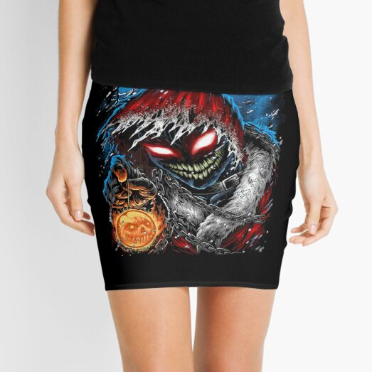 Disturbed Mini Skirt
