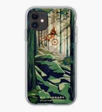 MY THERAPY: Mountain Bike! iPhone Case