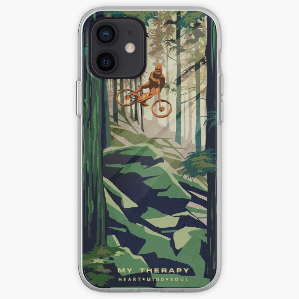 MY THERAPY: Vélo de montagne! Coque souple iPhone