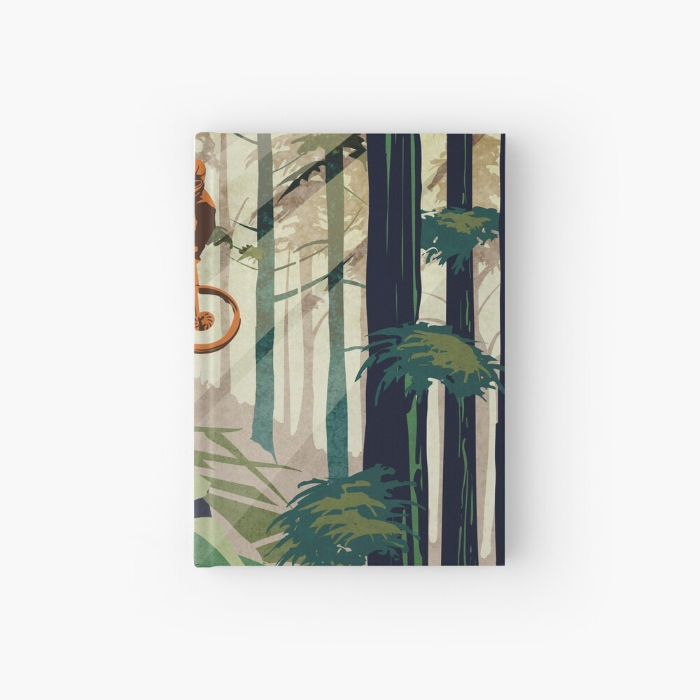 MY THERAPY: Mountain Bike! Hardcover Journal