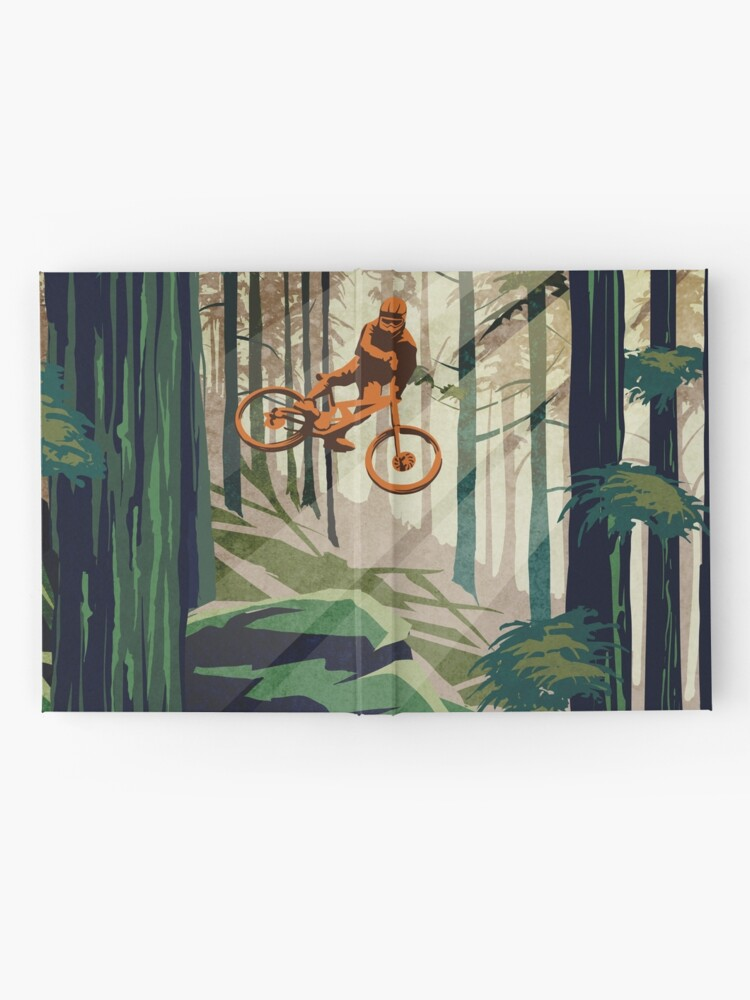 Alternate view of MY THERAPY: Mountain Bike! Hardcover Journal