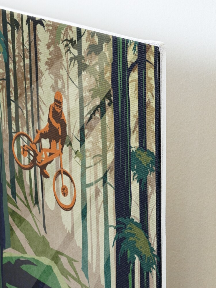 Alternate view of MY THERAPY: Mountain Bike! Mounted Print