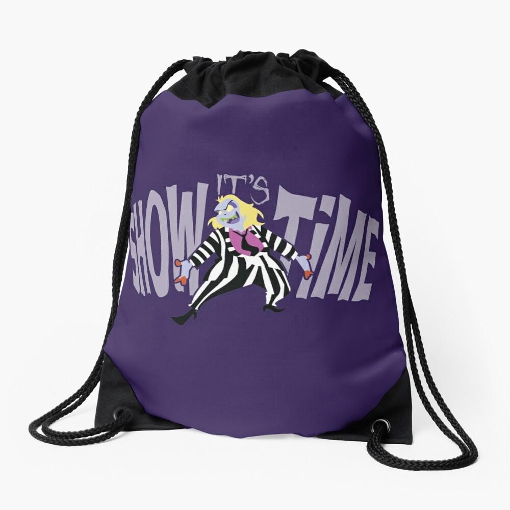 BeetleJuice: It's SHOWTIME! Drawstring Bag