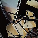 Hexagonal Interferences II by John Gaffen