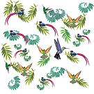 Birds Heaven  by Manitarka