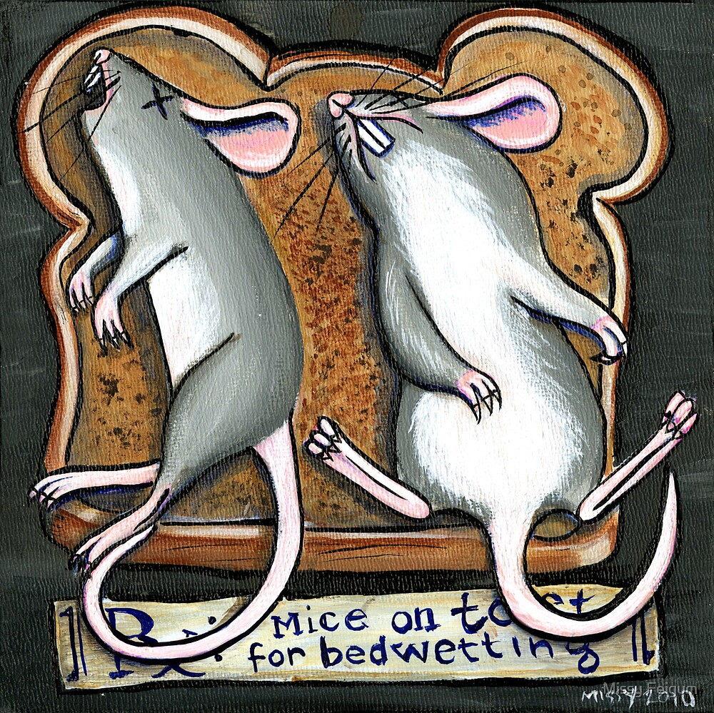 Mice on Toast by Missy Feigum