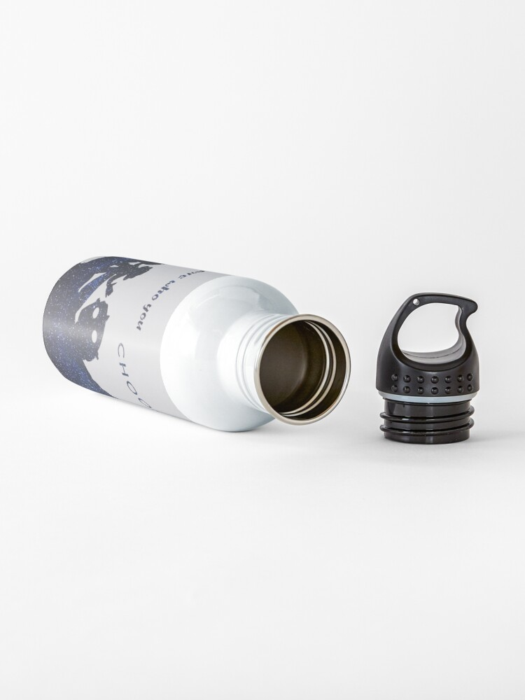 Alternate view of you are who you choose to be - the iron giant Water Bottle