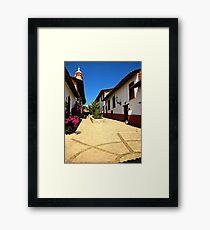 Guanajuato Plaza Framed Print