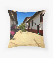 Guanajuato Plaza Throw Pillow