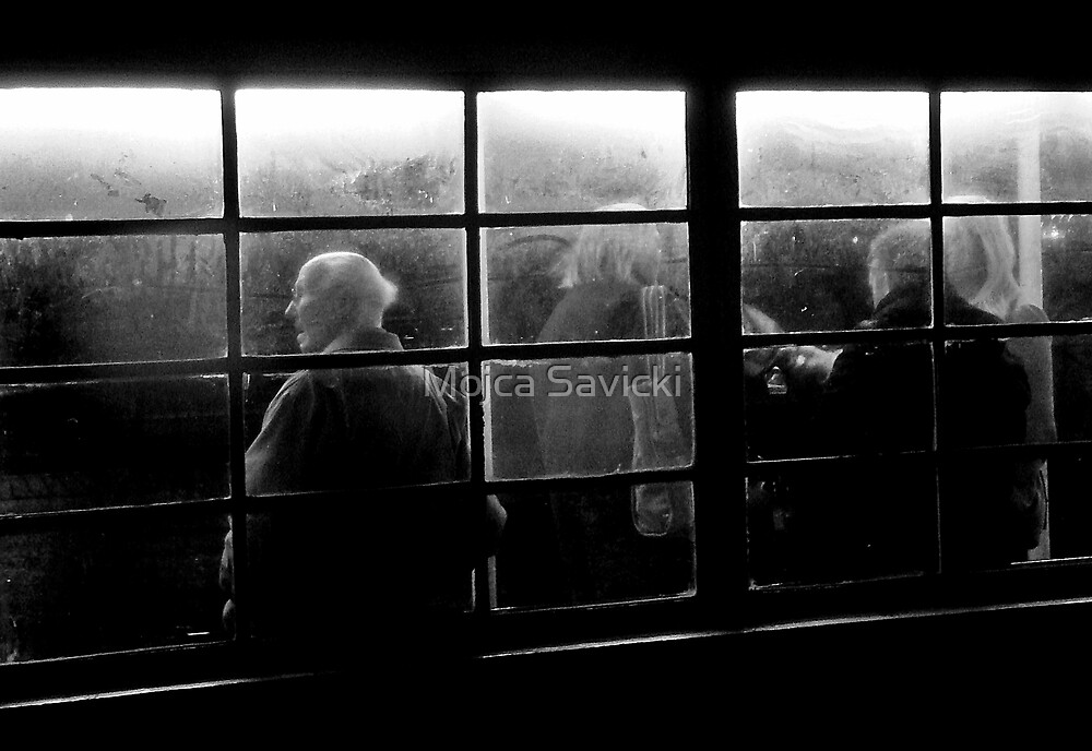 Bus Stop by Mojca Savicki