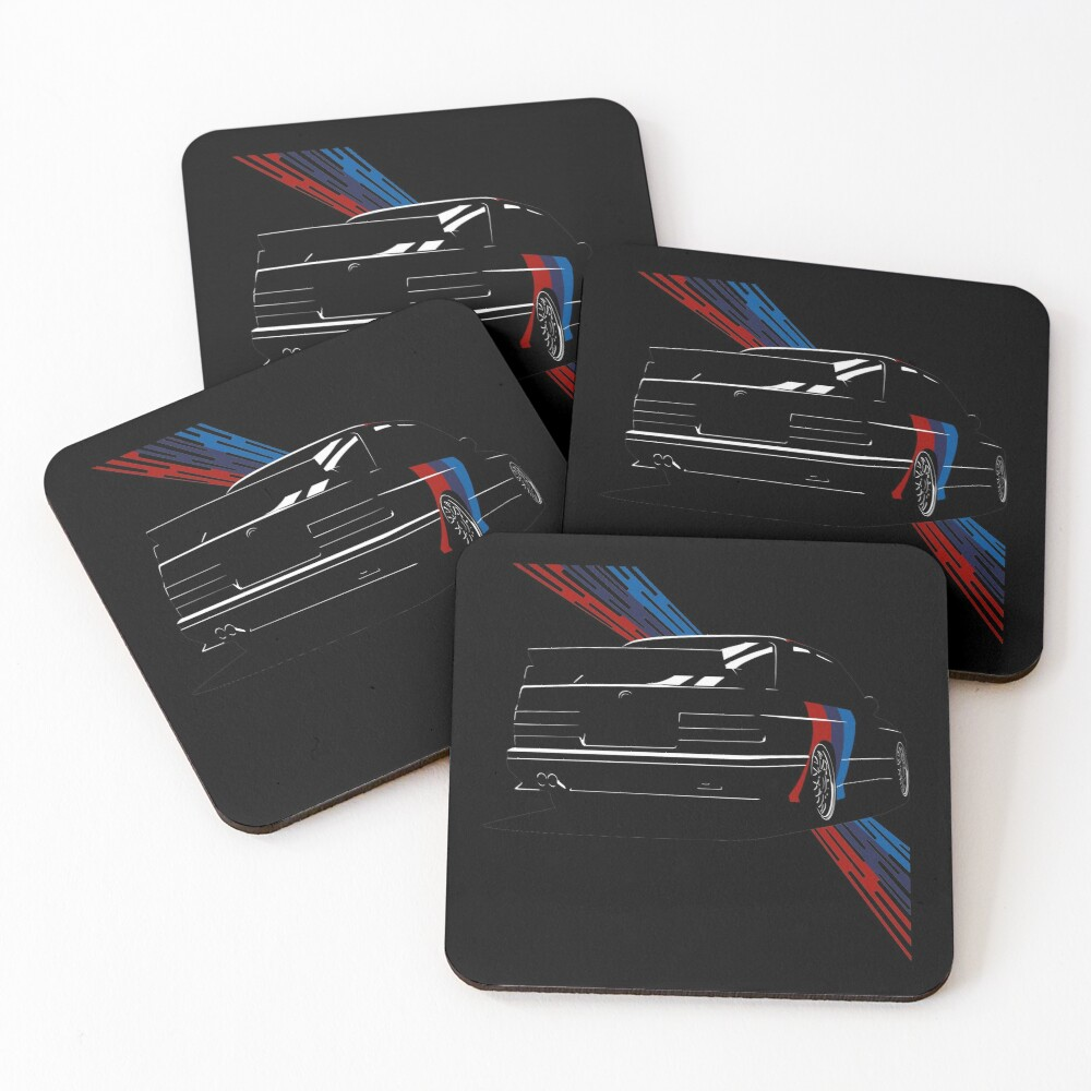 The Touring Meister Coasters (Set of 4)