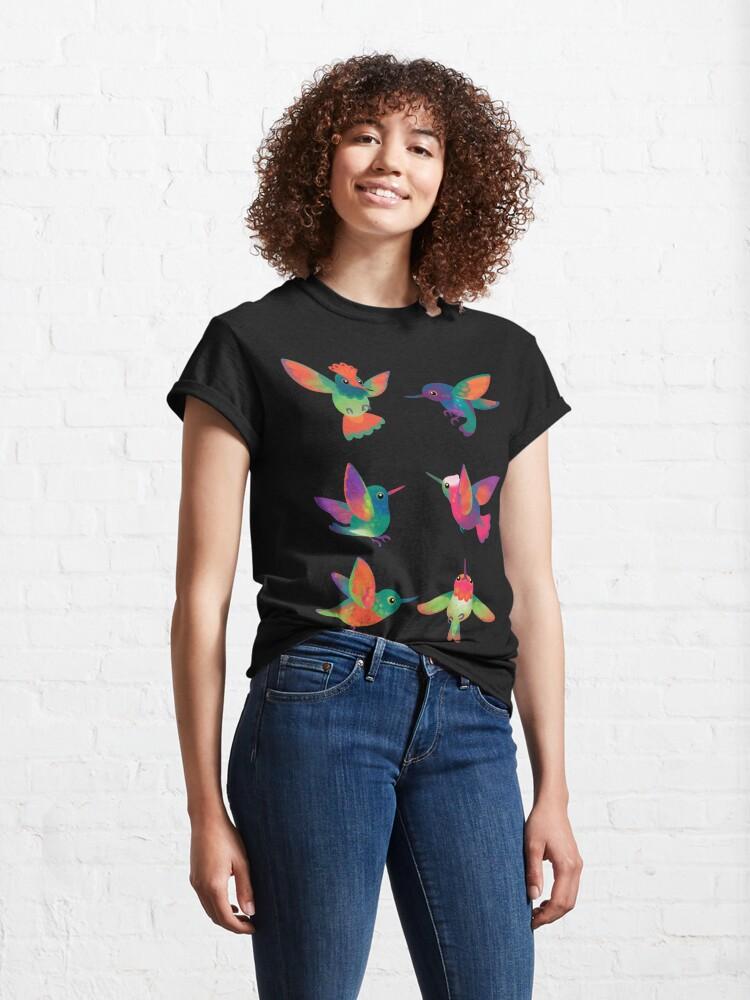 Alternate view of Hummingbird  Classic T-Shirt