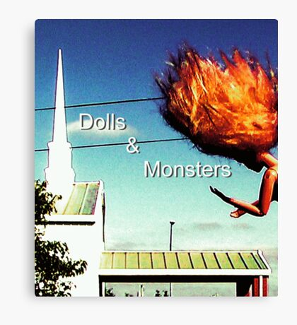 Dolls & Monsters Calender Cover Canvas Print