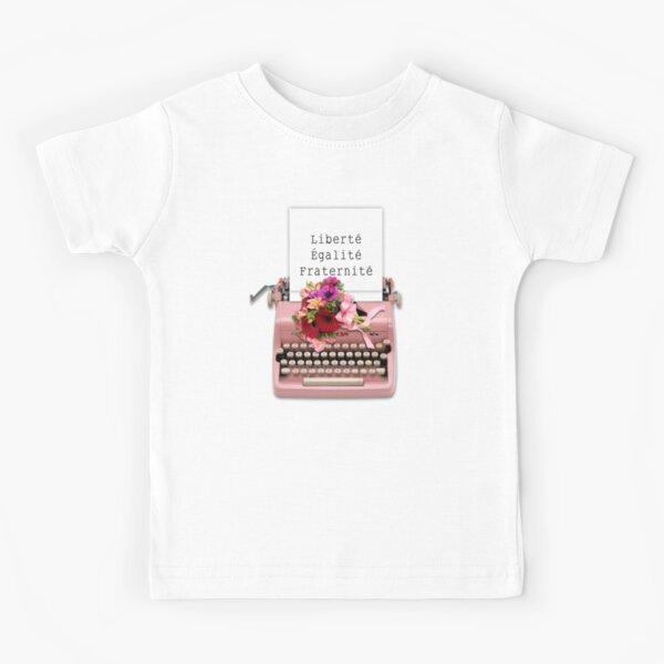 Liberté Type Writer Machine  Kids T-Shirt