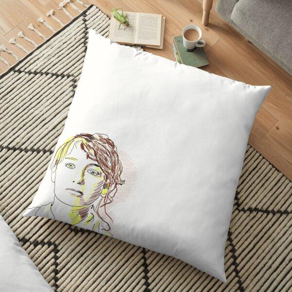 Camille Claudel Floor Pillow