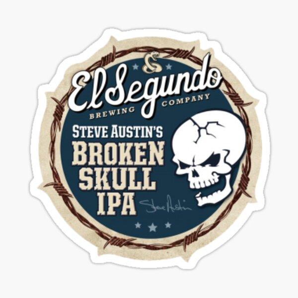 broken skull ipa Sticker