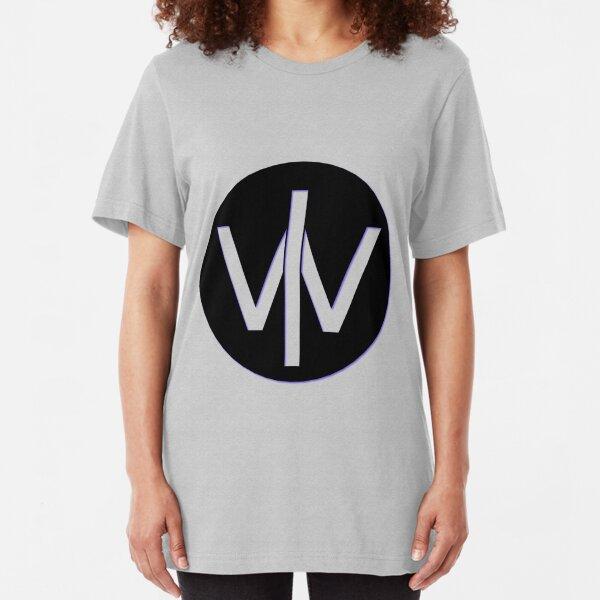 World Coin Logo Slim Fit T-Shirt