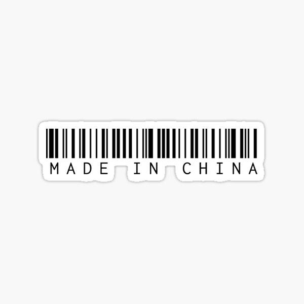 Made in China Sticker
