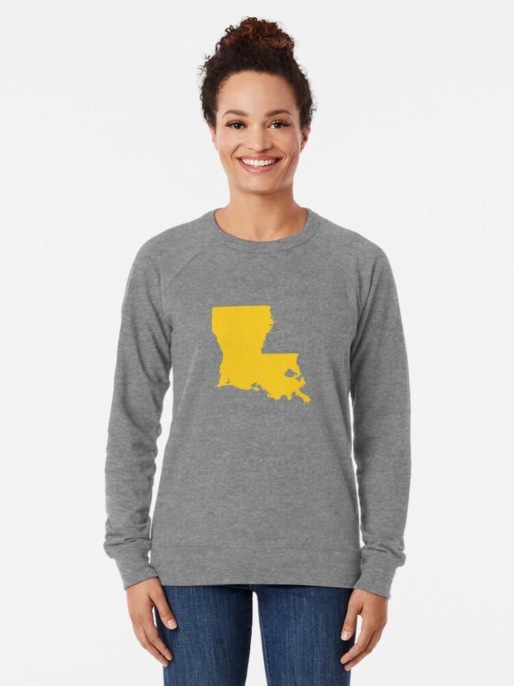 Alternate view of Louisiana Gold Lightweight Sweatshirt