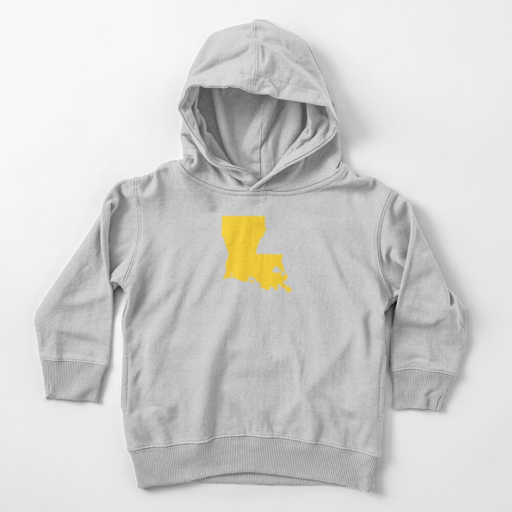 Louisiana Gold Toddler Pullover Hoodie
