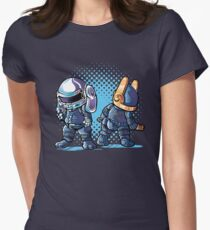 Daft Buns Women's Fitted T-Shirt