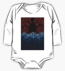 Cthulhu's sea of madness - Red One Piece - Long Sleeve