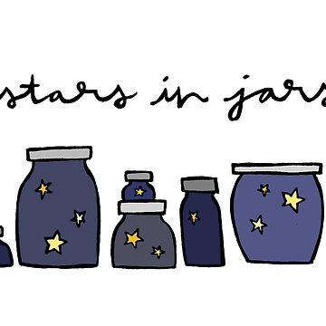 Estrellas en tarros de spiropaperco
