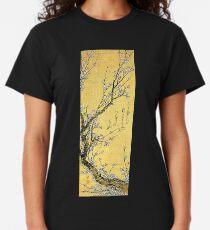 'Flowering Plum' by Katsushika Hokusai (Reproduction) Classic T-Shirt