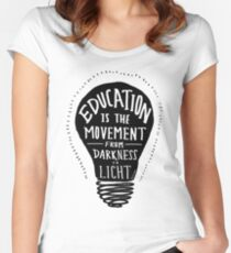 Education Women's Fitted Scoop T-Shirt