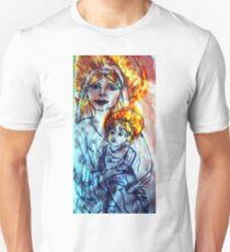 Camiseta unisex Madonna and Child