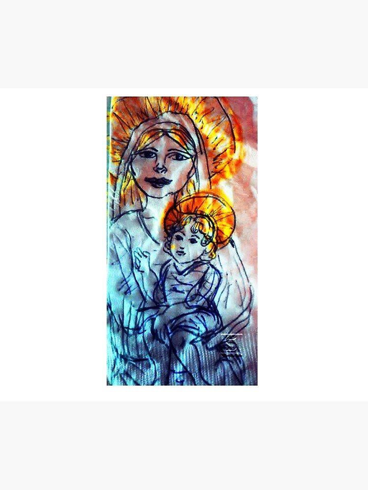 Madonna and Child by writewaydesigns