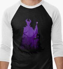 Midnight Maleficent Men's Baseball ¾ T-Shirt
