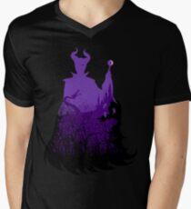 Midnight Maleficent Men's V-Neck T-Shirt