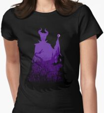 Midnight Maleficent Women's Fitted T-Shirt