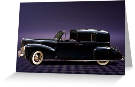 1941 Lincoln Continental City Limousine once owned by Henry Ford by TeeMack