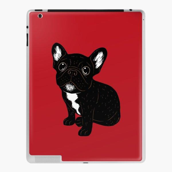 Cute Brindle Frenchie Puppy iPad Skin
