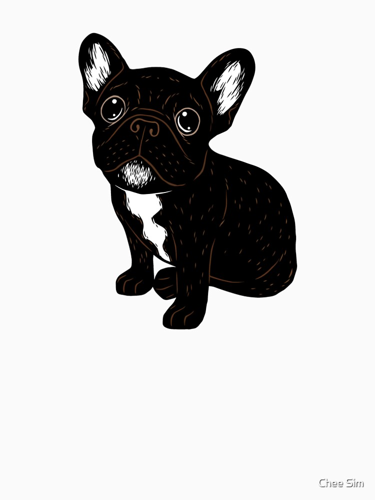 Cute Brindle Frenchie Puppy by cheesim