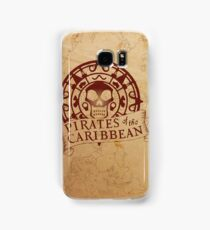 Pirates of the Caribbean Medallion 2 Samsung Galaxy Case/Skin