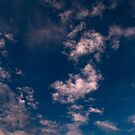 Powdered Clouds across the Big Blue by lillijy97