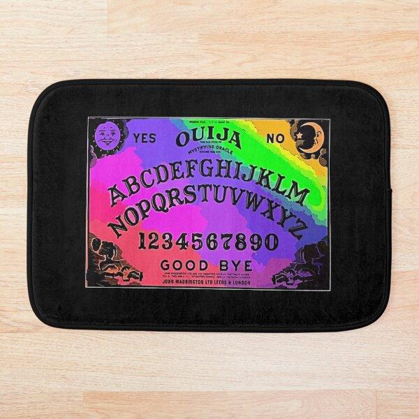 Neon Sugar Ouija Board Bath Mat
