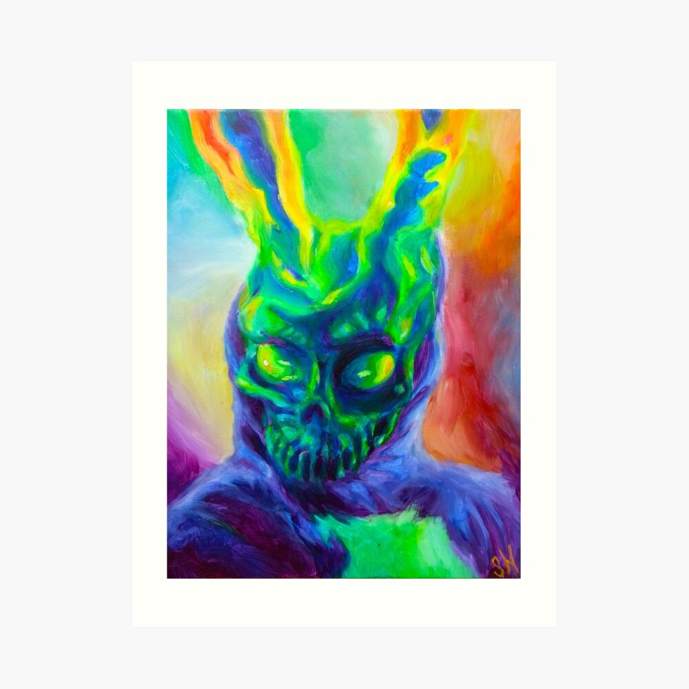 Burn His House Down Acrylic Painting Art Print