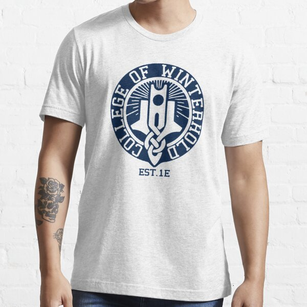 College of Winterhold Est. 1E Essential T-Shirt