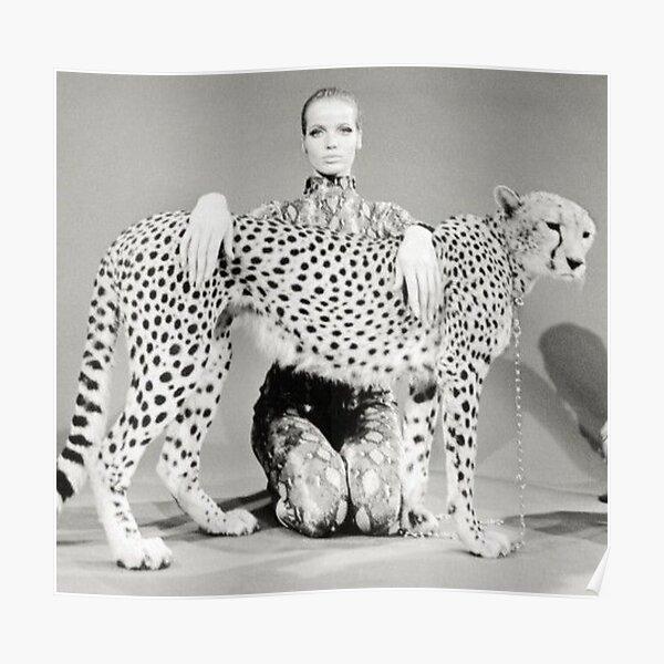 Veruschka : Cheetah III Poster